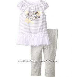 Костюм для девочки Calvin Klein бодикюбка с повязкой