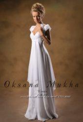 Свадебное платье Оксаны Мухи Vanda, подходит для беременной невесты