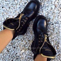 Ботинки BALMAIN точная копия , натуральная кожа