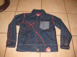 Фирменная джинсовая курточка 8-9 лет осень-весна