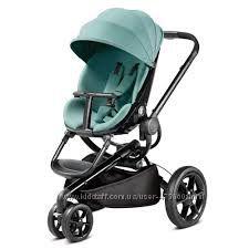 Quinny Moodd прогулочная коляска на черном шасси, все цвета