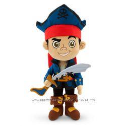 Мягкая игрушка Джейк и пираты Нетландии Disney, 35 см