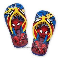 Детские вьетнамки Человек-паук Disney размеры 24-26, 27-28