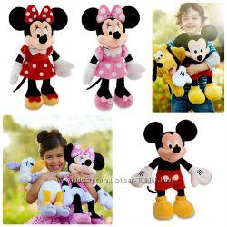мягкие игрушки Микки и Минни Маус 22см, 35 см, 46 см