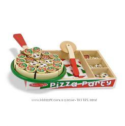 Игры с едой Melissa&Doug - пицца, торт, выпечка, наборы продуктов