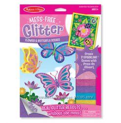 Glitter - наборы для творчества с блестящими наклейками Melissa&Doug