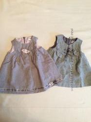 Очаровательные платья Zara 3-6 и 9-12