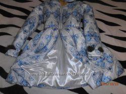 Детское пальто с пышной юбкой р 42