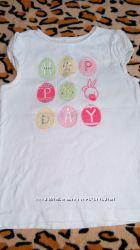 Нарядная футболка Gymboree на 6 лет