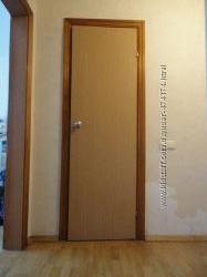 Двери межкомнатные с коробкой 6 штук, разные