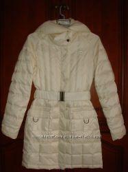 Стеганный пуховик пальто Reebok размер XS 34-36