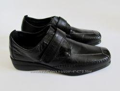 Туфли, слиперы кожаные, повседневные, демисезонные liza 39р италия