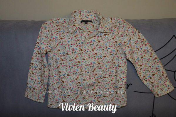 Крутая рубаха M&S на 3-4 года