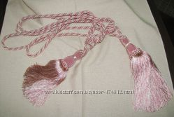 Кисть для штор цвета розово ваниль можно по 1шт