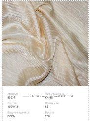 тюль вуаль полоса разние цвета