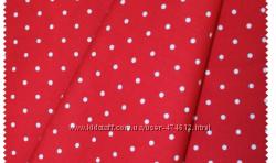 Ткань в горошек для детской