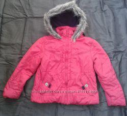 Распродажа стока Теплая куртка для девочки рост 122-128