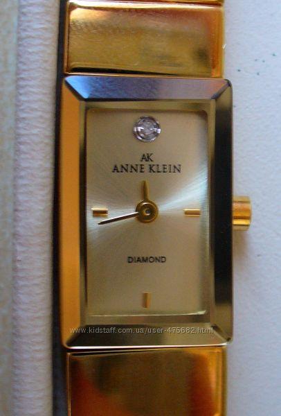 часы anne klein с бриллиантом слову