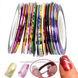 Самоклеящаяся декоративная лента для дизайна ногтей.