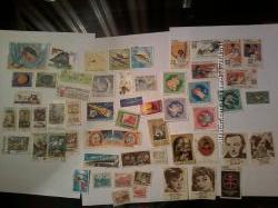 Продам почтовые марки начала 70-х годов