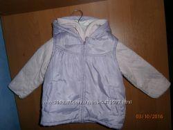 Продам очаровательную куртку с жилеткой