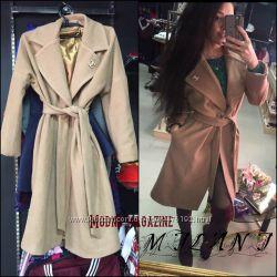 Женское стильное пальто ИО193