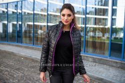 Двухсторонняя женская куртка