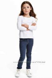 джинсы трегги НМ темные 4-5 лет