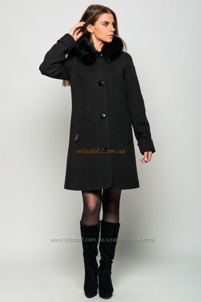 Зимнее женское кашемировое пальто