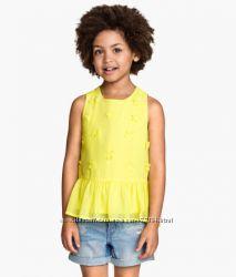 Яркие нарядные топы для девочки