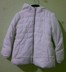 Очаровательная куртка-пуховичок на девочку 4-5 лет, на 110 см.