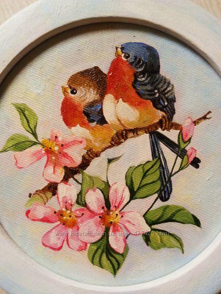 Картины птички