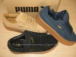 Кроссовки Puma Rihanna Suede Creeper. Наличие. Расцветки