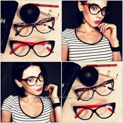 Имиджевые очки нулевочки в стиле TOM FORD