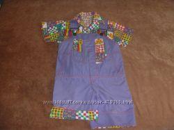 комбез и рубашка на 1, 5-3 года