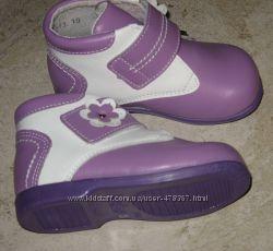 Легкие качественные ботиночки Shagovita, Шаговита для начинающих ходить. Ра