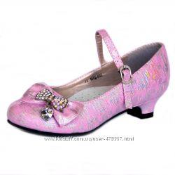 Нарядные, праздничные туфли для девочки  Dolar Dog . Распродажа