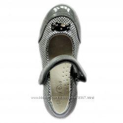 Красивые демисезонные туфельки для девочки  BUDDY DOG  Бадди дог. Распродаж