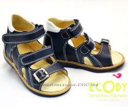 Босоножки, сандалии  Ecoby мальчикам арт. 015В. Распродажа