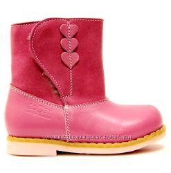 На цигейке. Обувь ниже себестоимости сапожки зимние Ecoby для девочки