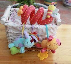 Подвесная игрушка-змейка на коляску и кроватку ELC