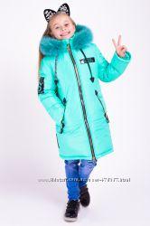 Зимние куртки, пальто, комбинезоны для девочек