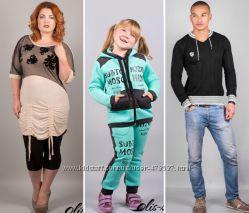 Женская, детская, мужская одежда Olis-style. Мин. цен