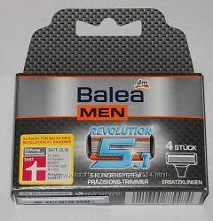 Запаски к станку для бритья Balea Revolution 5. 1 Ersatzklingen