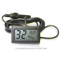 Термометр-гигрометр с выносным датчиком