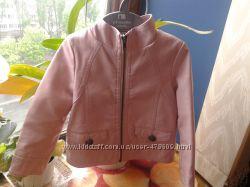 Дизайнерская кожанная куртка PUMPKIN PATCH
