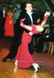 Платье для бальных танцев Swarovski Crystal