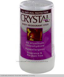 Натуральные дезодоранты Crystal, роликовые, кварц