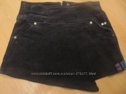 вельветовая юбка для девочки , 122 рост