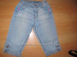 джинсовые капри для девочки